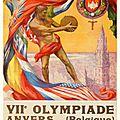 Jeux olympiques 1920 à anvers