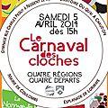 Carnaval des cloches le samedi 5 avril a partir de 15h