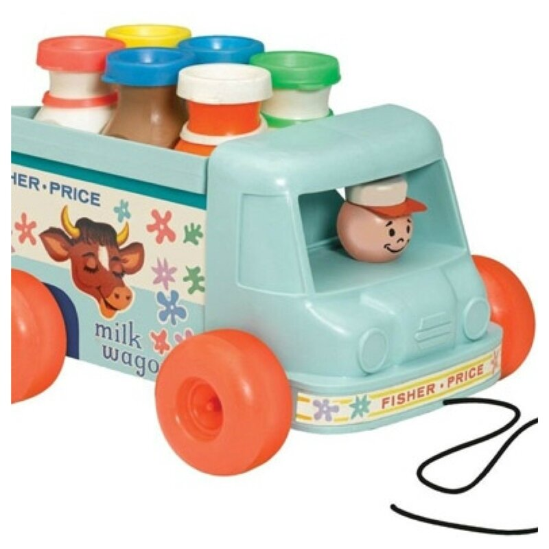 Camion laitier Fisher Price