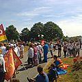Manifestation pour l'emploi a lanester