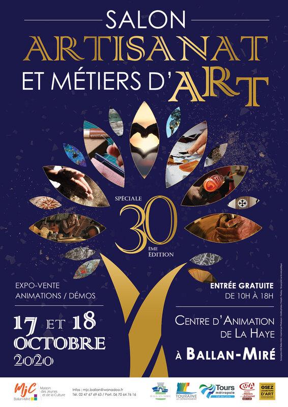 Affiche-30ème-Salon-de-l'Artisanat-et-des-Métiers-d'Art-2020