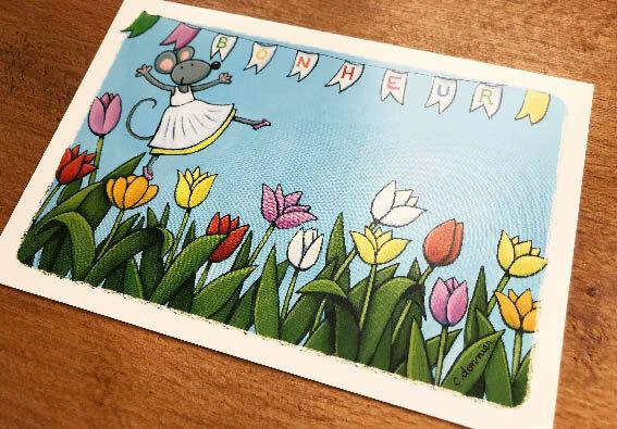 481- bonheur tulipe