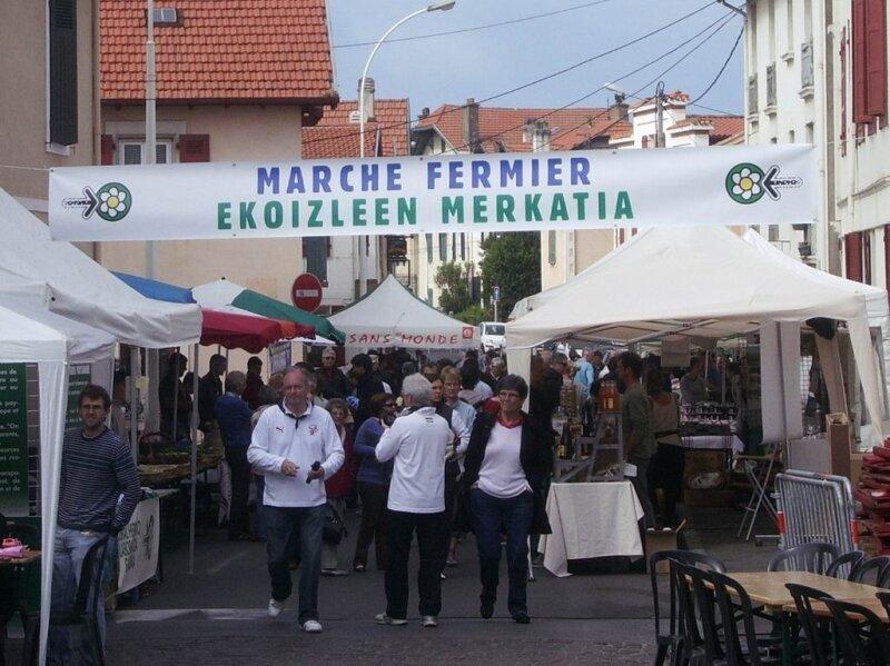 marché des producteurs du Pays-Basques
