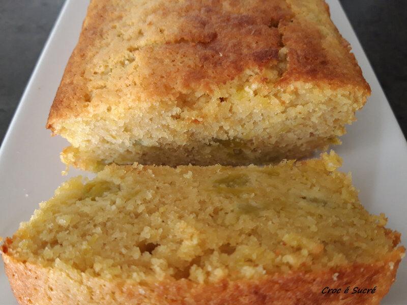 Cake rhubarbe 2