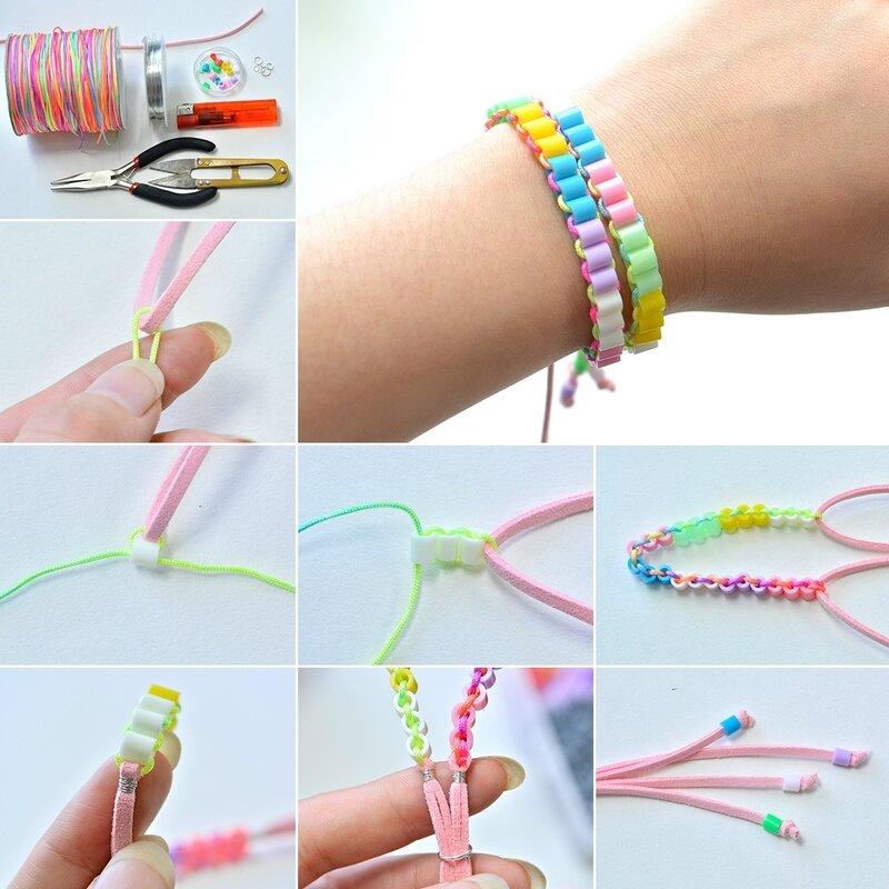 1080-Tutorials-on-Making-Spring-Colorful-Beads-Bracelet