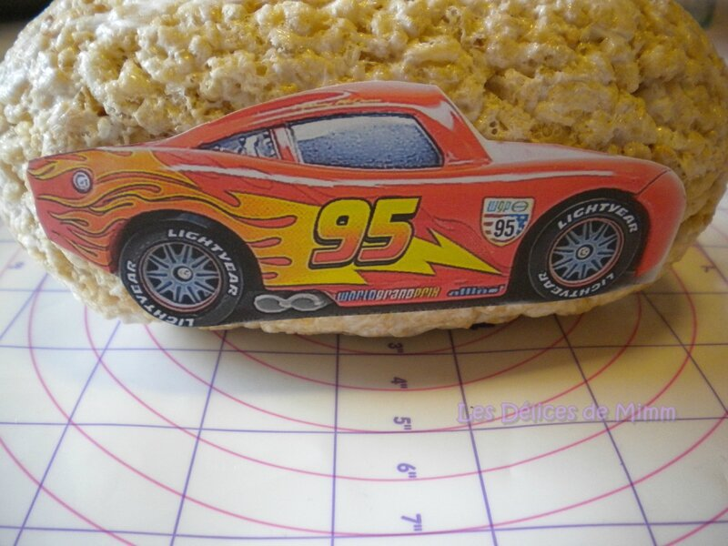 Voiture Flash Mcqueen (Cars) en RKT (tutoriel) 2