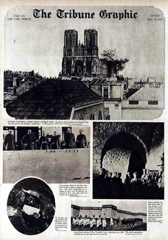 NYT 27 05 1917 N_Dame