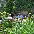 Pique nique convivial entre ami(e)s jardinautes