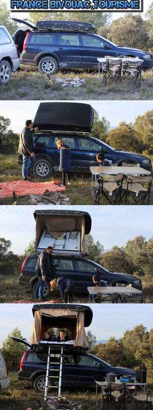 un pick up ford ranger avec cellule tipi 4x4 et un disco 3 avec hussarde quatro en bivouac au. Black Bedroom Furniture Sets. Home Design Ideas