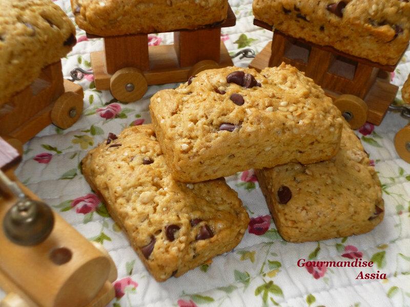 Cookies aux Sésames1
