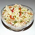 Salade de perles façon taboulé