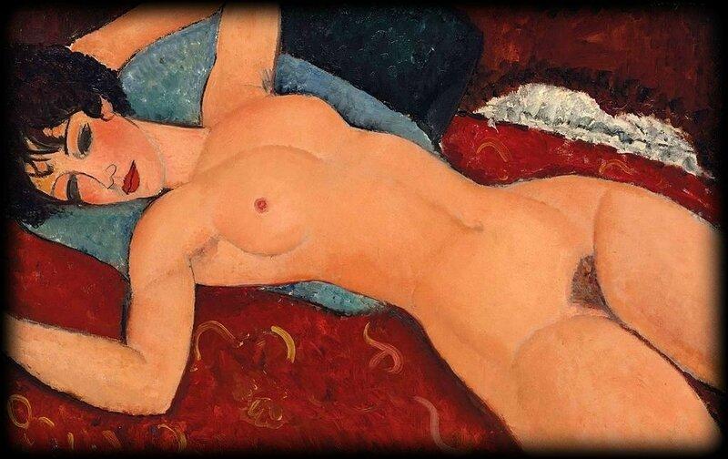 Modigliani_-_Nu_couché,