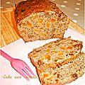 Cake aux fruits et fibres
