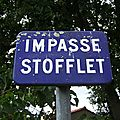Le Bourg-sous-la-Roche (85), impasse Stofflet