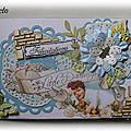 Carte de Félicitations pour la Naissance d'Ethan * 08/2013