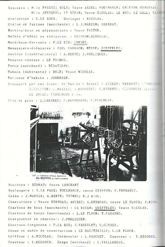 1907 - Grands electeurs - debits de boissons de Port-Launay 2