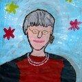 Grégory a peint Monique T.