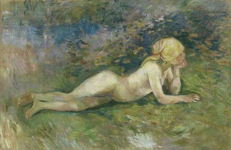 Berthe Morisot, Bergère nue couchée 1891