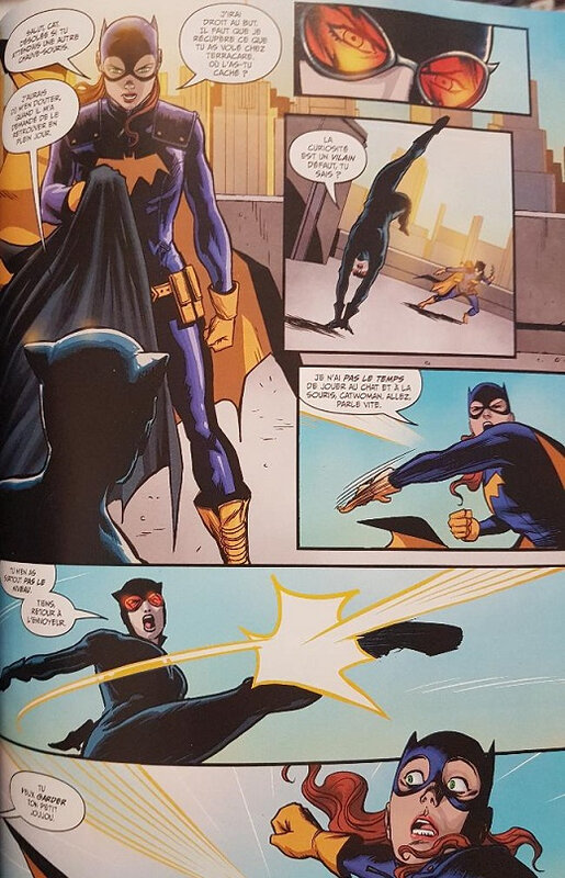 récit complet batman 07 batgirl & birds of prey b