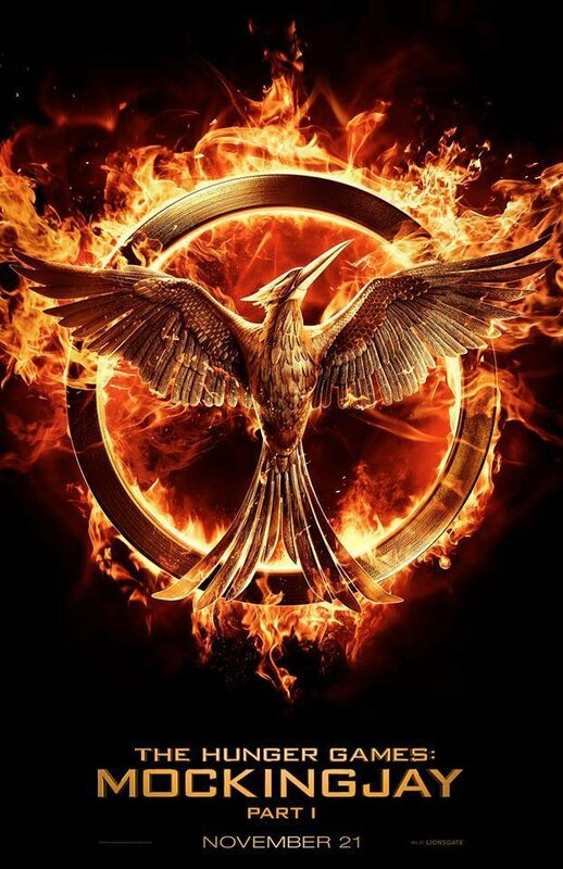 Hunger games partie 3 - poster mockingjay