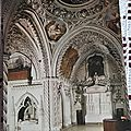 Aix les bains - Abbaye d'Hautecombe - transept