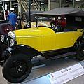 CITROËN type C 5CV trèfle 1925 Bruxelles Autoworld (1)