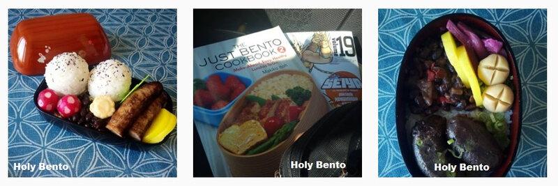 Holy Bento 167-168 livres
