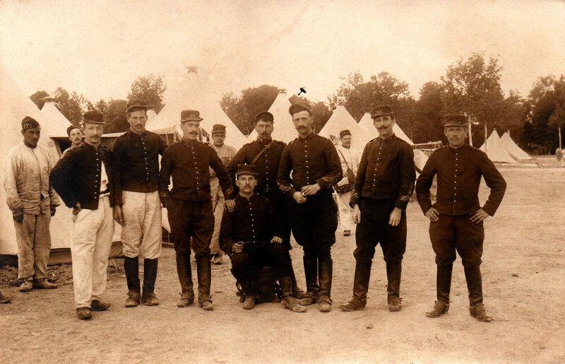 43e RAC Camp de Sissonne vers 1912-1914 Lucien André Dérain