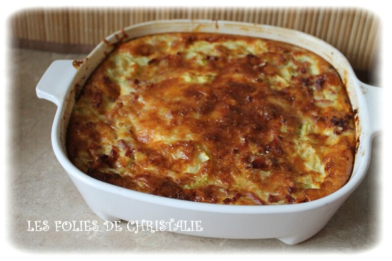 Flan courgettes 6