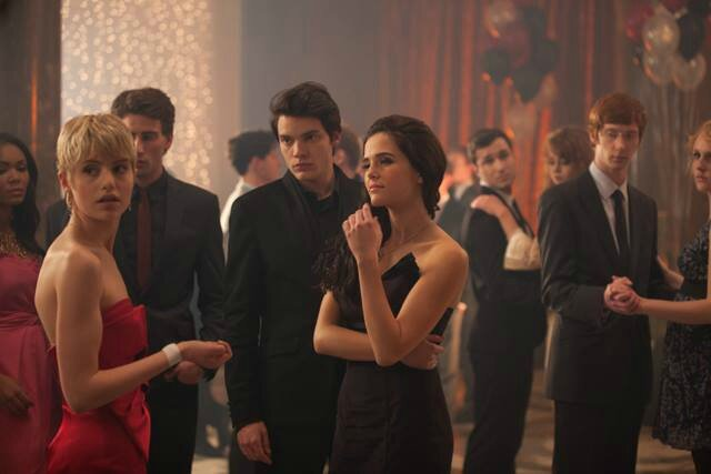 Mia, Rose and Christian Vampire Academy movie