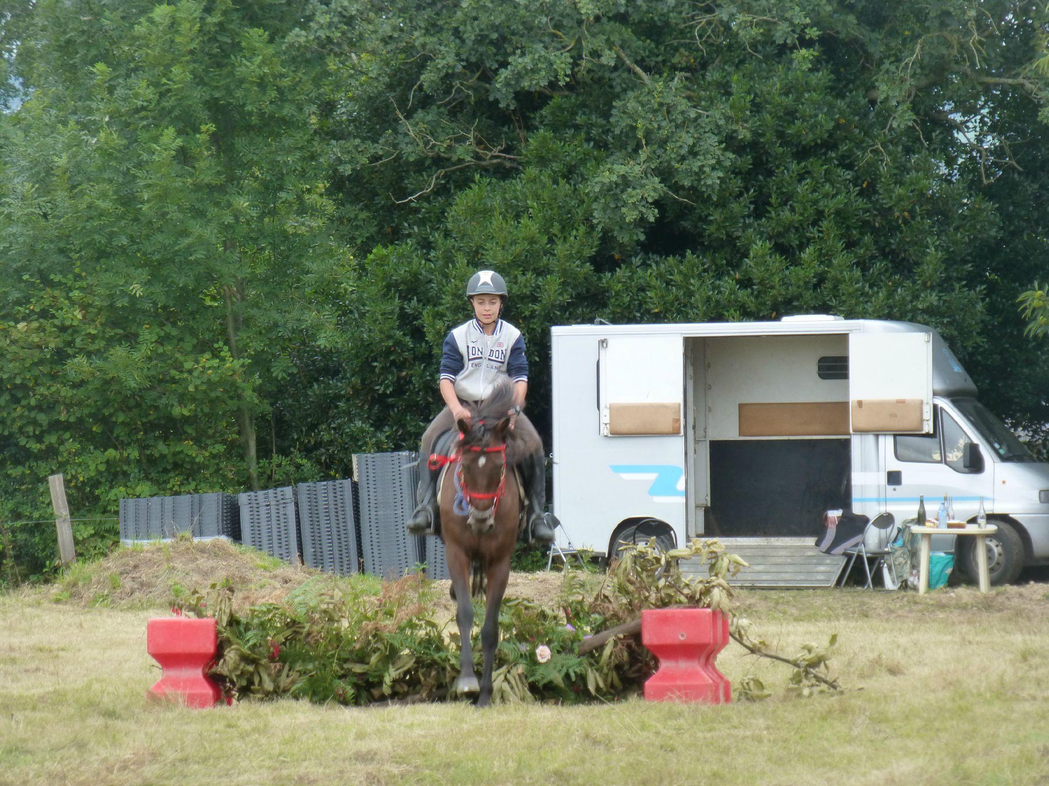 Jeux équestres manchots - parcours de pleine nature après-midi (323)