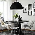 The bertoia side chair de harry bertoia