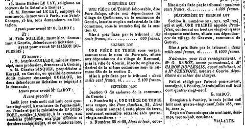 Presse Journal de Pontivy 1889_4