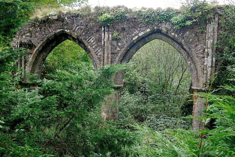 232921-vestiges-abbaye-belletoile-arches-gothiques-interieur-eglise-commune-cerisy-belletoile-orne-