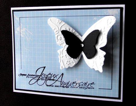 1 carte papillon l