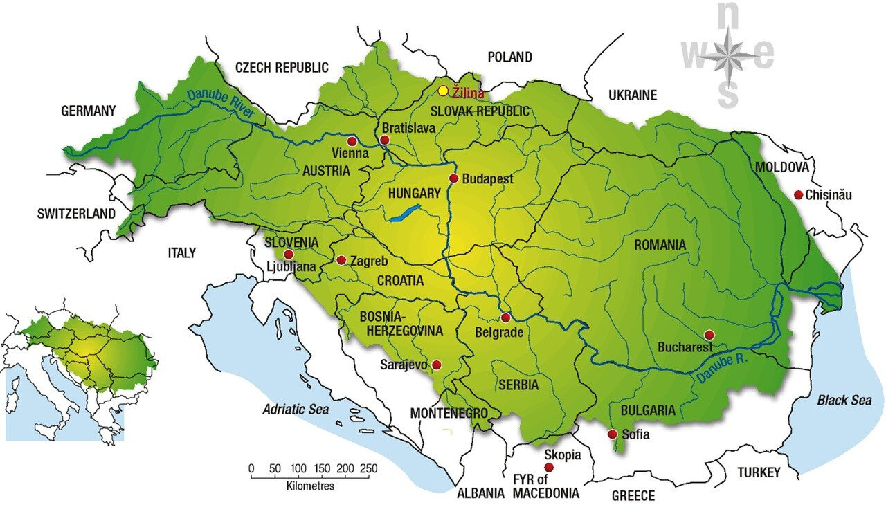 The Danube basin