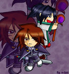 Chibi_Kratos_and_Keele_by_Ariall