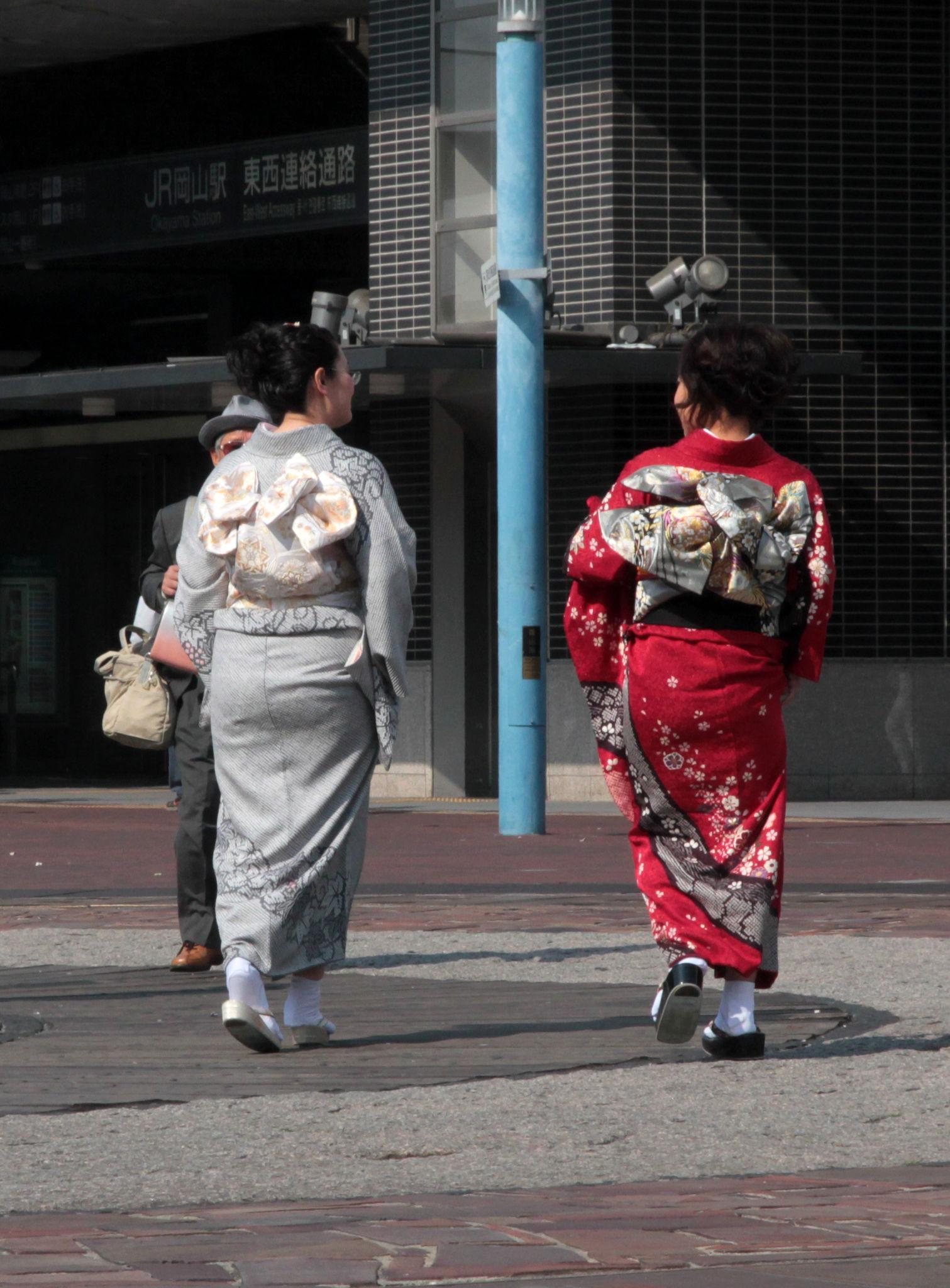 Kimono Girls, Okayama
