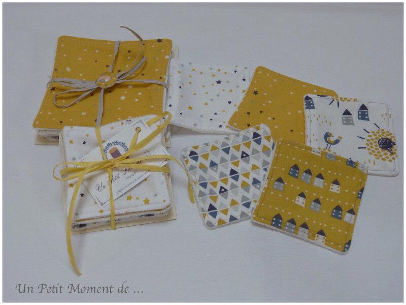 Ensemble naissance jaune et gris 4