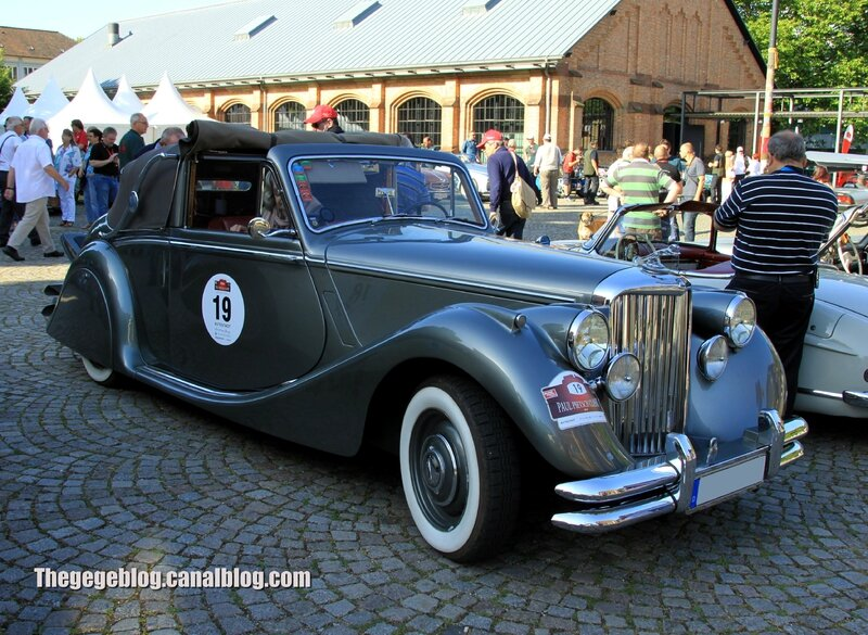 Jaguar MKV drophead coupe de 1949 (Paul Pietsch Classic 2014) 01