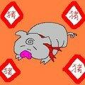 Bonne année du cochon!!(euh...un peu en retard mais bon...)