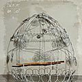 cage grand modèle en fil de fer