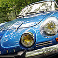 Alpine renault a110 v85 / berlinette 1300 - 1975 (photos 2019@20th edition 'tour enfance'/rotary reims clotilde - france)