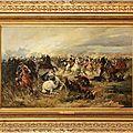 Beauquesne, charge des cuirassiers français, 1870 (1898)