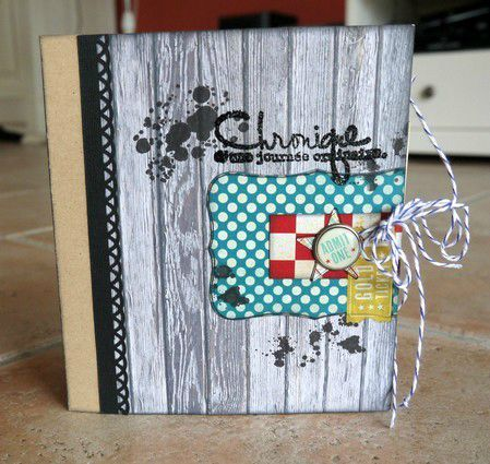 mini album Chronique scraplift Daude