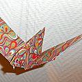 Oiseau en papier - origami vraiment simple