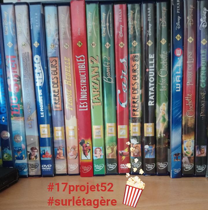 42 projet52 2017 - Sur l'étagère
