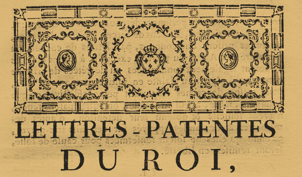 Le 17 décembre 1790 à Mamers : enregistrement de lois.