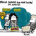 Carrefour, le smic, les salariés
