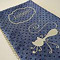 Mag Attack - carnet de santé animaux bleu à pois (7)